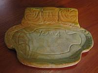 Тарелка из камня