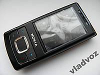 Корпус Nokia 6500S чёрный + клавиатура class AAA