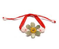Браслет нефритовый Цветок