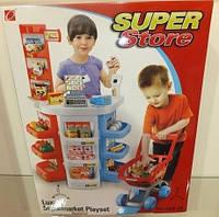 Игровой Супермаркет с тележкой 668-18