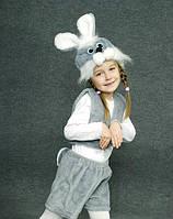 Детский карнавальный костюм- зайчик