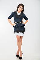 Трикотажное платье - футляр