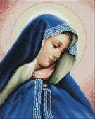 """Набор алмазной вышивки икона """"Благовещение Пресвятой Богородици"""""""