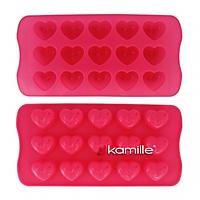 Форма силиконовая для льда 21*10.5*2см Kamille 7713