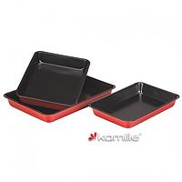 Набор из трех форм для запекания Kamille 6018