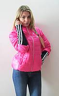 Куртка зимняя Adidas розовый