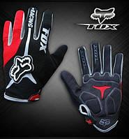 Велоперчатки Fox 2014 красные