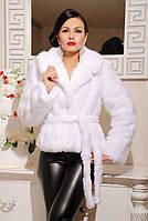Шуба женская Шаде белая, шубу купить украина