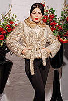 Шуба женская Шаде леопард, шубу купить украина
