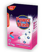 Бесфосфатный стиральный порошок Power Wash Professional  универсальный, 9,1 кг