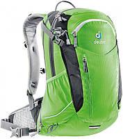 Многофункциональный велосипедный рюкзак 20+4 л. DEUTER CROSS AIR 20 EXP, 32094 2704 зеленый