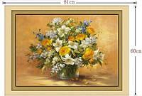 """Картина по номерам """"Красивые цветы"""" (набор для творчества)"""