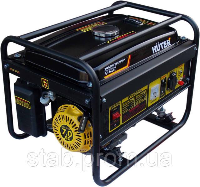 Бензиновый генератор huter dy4000lx 3 квт huter