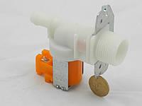 Клапан подачи воды для стиральных машин под фишку 1/180