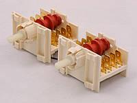 Переключатель конфорок электроплиты Whirlpool (спареный двойной) (481927328445)