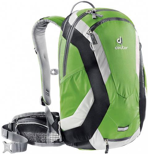 Велорюкзак 18 л. с защитной жилеткой DEUTER SUPERBIKE 18 EXP, 32114 2704 зеленый