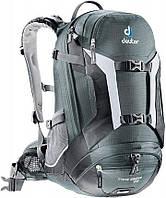 Велорюкзак 25 л. TRANS ALPINE 25 для горных поездок DEUTER, 32203 4700 серый