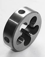 Плашка левая М-14х1,5 LH, 9ХС, (38/10 мм), мелкий шаг