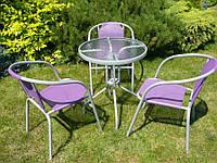 Садові меблі. Комплект стіл + 3 стільці
