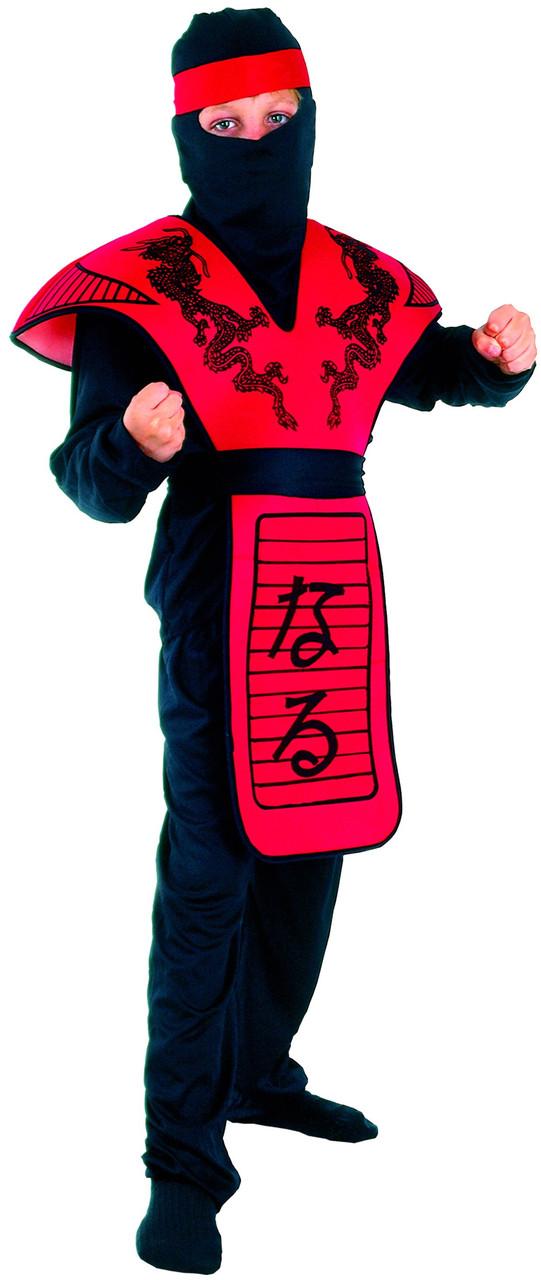 Костюм для ребенка ниндзя своими руками