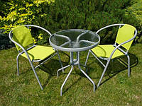 Садові меблі, столи та крісла. Комплект стіл + 2 (3, 4) крісла