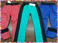 Тёплые брюки на флисе мод 537