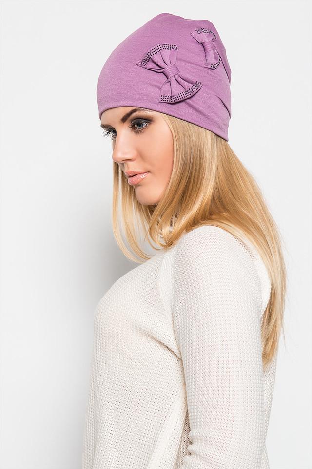 Зимние шапки своими руками из трикотажа