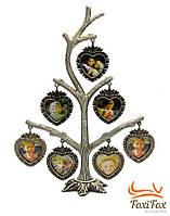 """Фоторамка """"дерево сердец"""""""