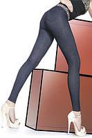 Леггинсы в стиле классических джинсовых брюк
