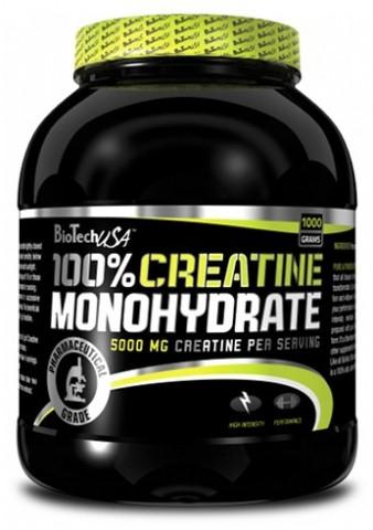 Креатин 100% Creatine Monohydrate BioTech 1000 грамм