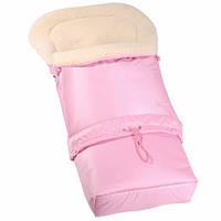 Конверт спальный мешок для детей на овчине Multi Arctic № 20 (standart), WOMAR, розовый