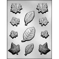 Молд для шоколада Листья 3D (код 03304)