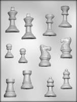 Молд для шоколада Шахматы 3D (код 03313)