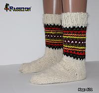 Вовняні жіночі шкарпетки Настрій