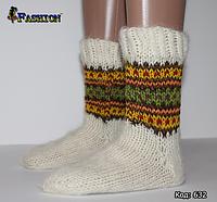 Женские шерстяные носки Зимнее великолепие