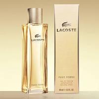Женская туалетная вода Lacoste Pour Femme (Лакост Пур Феми), 90 мл