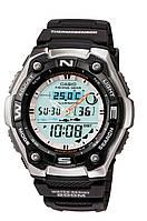 Мужские часы CASIO AQW-101-1AVER для рыбака
