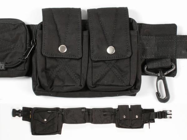 Пояс с карманами черный Trevel A