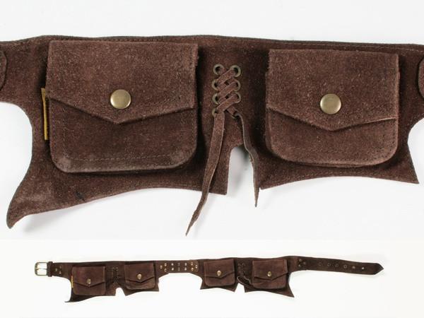 Кожаный пояс с карманами Wildtrip