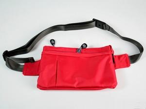 Поясная сумка красная STP