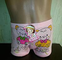 Трусы-шортики детские  для девочки