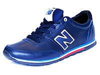 New Balance кроссовки синие натуральные кожаные, фото 1