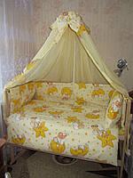 Постельные принадлежности в детскую кроватку