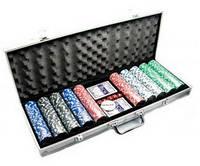 Набор для игры в покер в алюминиевом кейсе №500
