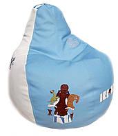 Кресло мешок-капля с вышивкой + ПОДАРОК