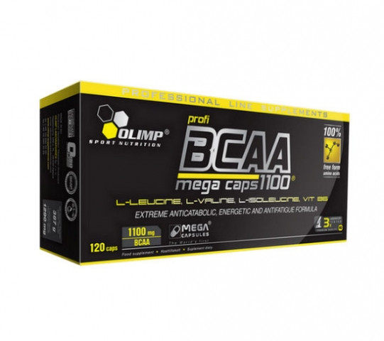 BCAA Mega caps 1100 Olimp labs 120 капсул