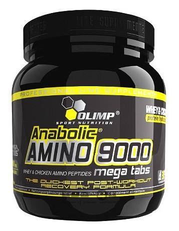 Аминокислоты Anabolic Amino 9000 mega tabs 300 Olimp таблеток