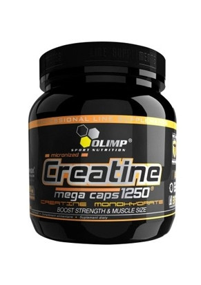 Creatine mega caps Olimp Labs 1250 400 капсул