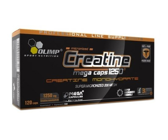 Creatine mega caps 1250 Olimp Labs 120 капсул