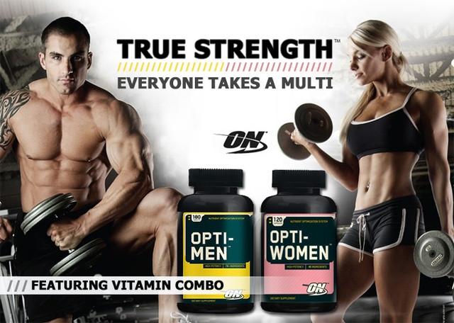 Витамины Opti-Men Optimum Nutrition 180 таблеток